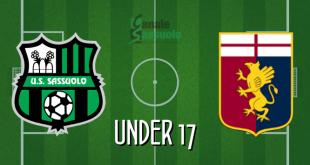 Diretta Under 17 Sassuolo-Genoa