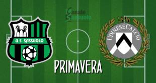 Diretta Primavera Sassuolo-Udinese