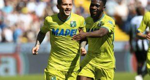 I numeri di Sassuolo-Udinese 1-1: amuleto Dacia Arena per Sensi