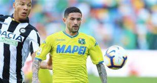 Il tabellino di Udinese-Sassuolo 1-1