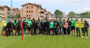 FOTOGALLERY – Sassuolo, al Ricci si festeggia la salvezza con i tifosi