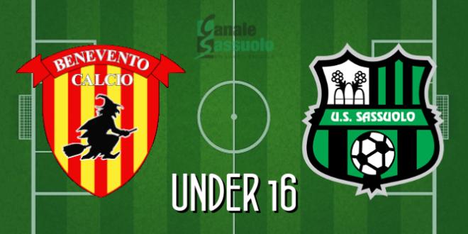 DIRETTA Under 16 Benevento-Sassuolo