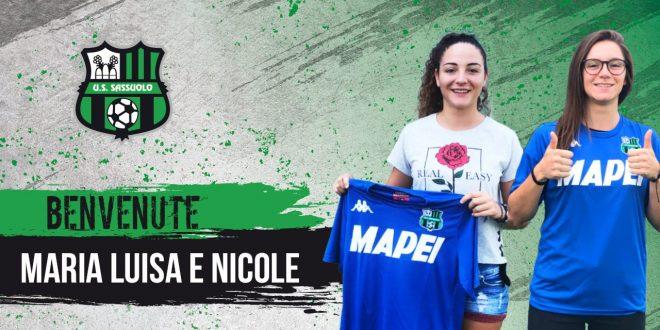 Nicole Lauria e Maria Luisa Filangeri