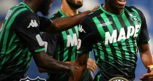 Sassuolo-Spezia 1-0: neroverdi avanti in Coppa Italia. Il tabellino