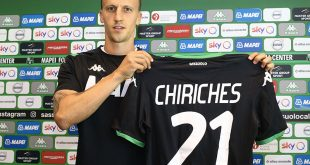 """Sassuolo, Chiriches in conferenza stampa: """"Qui per il gioco di De Zerbi"""""""