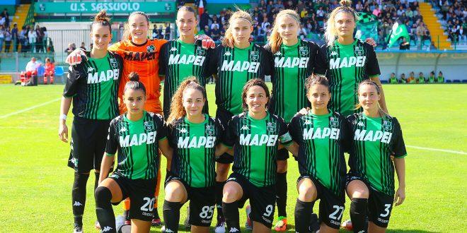 Serie A Femminile: è monologo Sassuolo al Ricci, Florentia battuta 3-0!