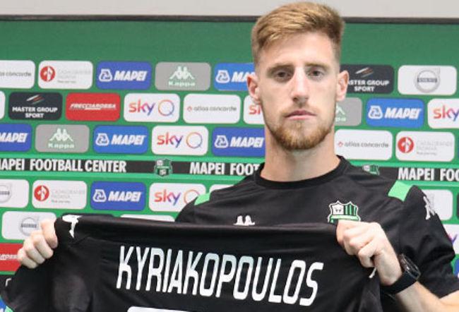 giorgos Kyriakopoulos sassuolo