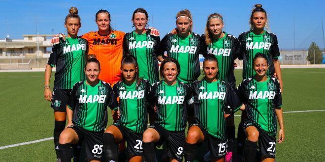 Sassuolo Femminile battuto di misura dalla Fiorentina: 2-1 viola