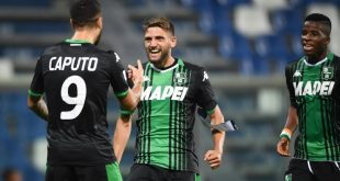 FINALE Sassuolo-SPAL 3-0