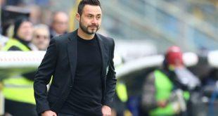 """De Zerbi post Sassuolo-Spal 3-0: """"Ottima reazione, ora puntiamo a subire meno gol"""""""