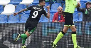 Le pagelle di Sassuolo-Spal 3-0: lo show di Ciccio Caputo abbatte gli estensi