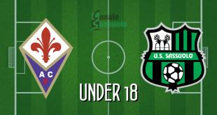 Diretta Under 18 Fiorentina-Sassuolo