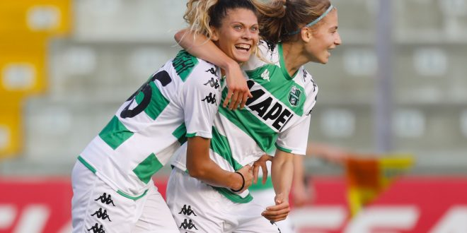 Sassuolo Femminile beffato nel finale dalla Fiorentina: 2-1 per le viola