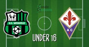 Diretta Under 16 Sassuolo-Fiorentina