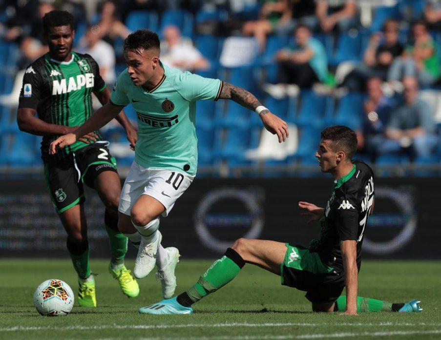 Inter - Sassuolo: Mediolan mknie po mistrzostwo Serie A ...  |Inter- Sassuolo