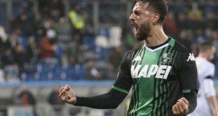 """Ciccio Caputo dopo Sassuolo-Bologna 3-1: """"Felice per la doppietta, ma di più per la vittoria"""""""