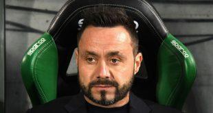 """De Zerbi dopo Sassuolo-Perugia 1-2: """"Poche critiche su atteggiamento e grinta"""""""