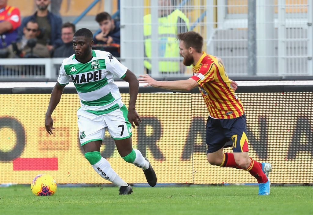 Jeremie Boga, Lecce-Sassuolo 2-2