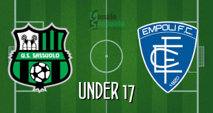 DIRETTA Sassuolo-Empoli Under 17