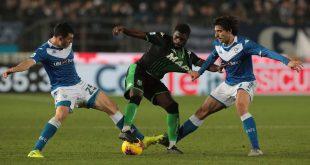 Serie A: Sassuolo-Brescia verrà disputata domenica a porte chiuse
