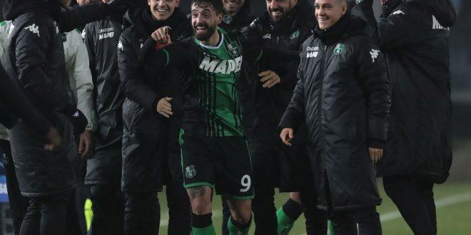 Brescia-Sassuolo esultanza