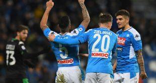 Sassuolo-Napoli, gol Allan