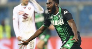 I numeri di Sassuolo-Torino 2-1: la prima rimonta stagionale