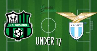 Diretta Under 17 Sassuolo-Lazio