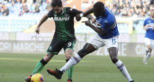 Sampdoria-Sassuolo 0-0: un punto guadagnato dopo un rosso immeritato