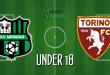 FINALE Under 18 Sassuolo-Torino 0-1: ancora una sconfitta per i 2002