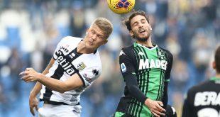 I numeri di Sassuolo-Parma 0-1: il Sassuolo produce gioco, il Parma punti
