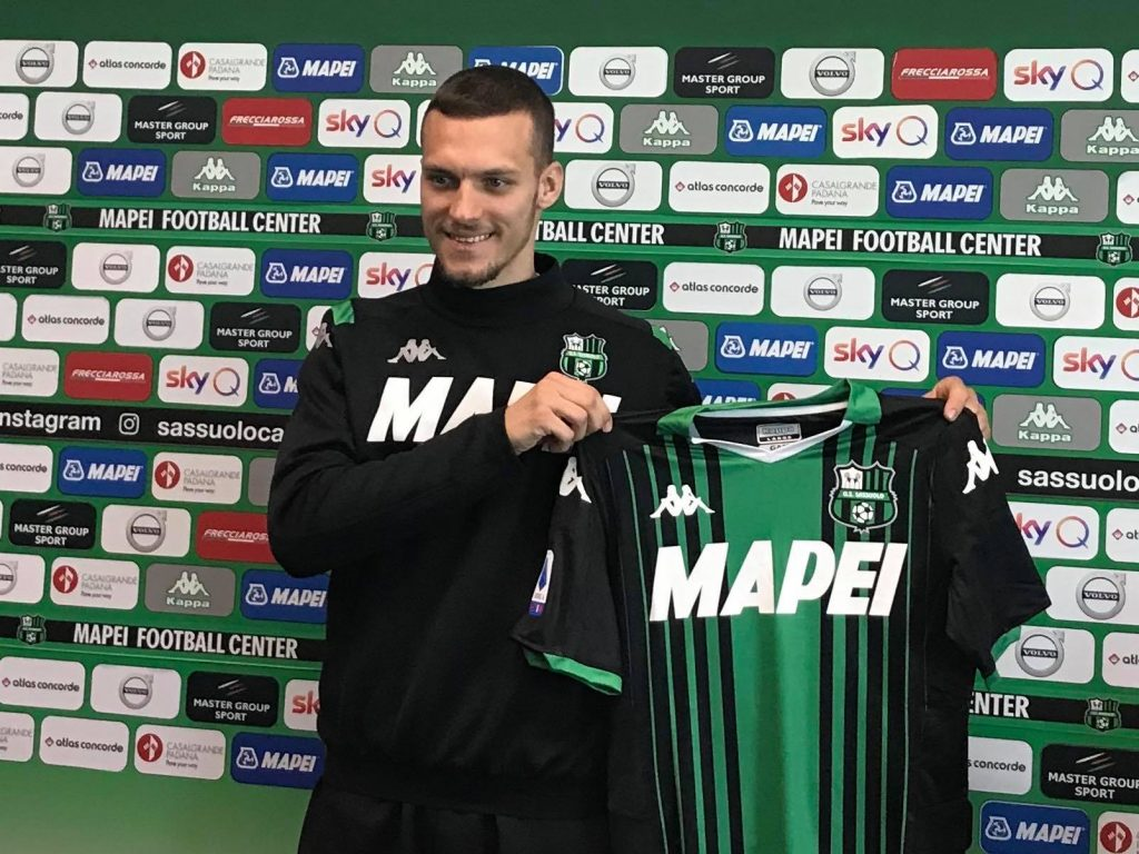 Lukas Haraslin presentato alla stampa