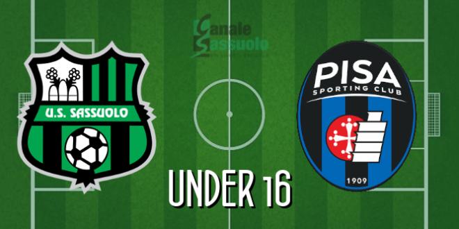 Diretta Under 16 Sassuolo-Pisa