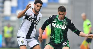 Il tabellino di Sassuolo-Parma 0-1