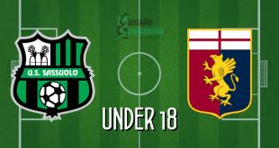 Diretta Under 18 Sassuolo-Genoa
