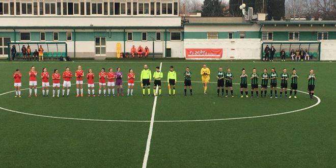 Sassuolo Primavera Femminile, nove gol all'Orobica a San Michele