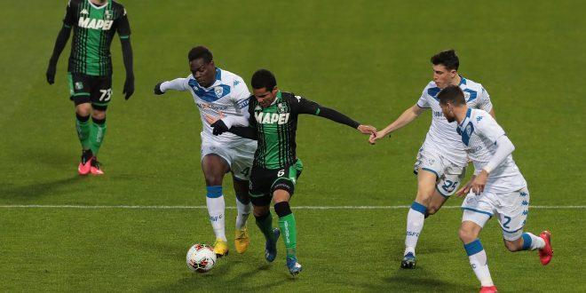 Sassuolo-Brescia 3-0 tabellino