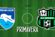 FINALE Primavera Pescara-Sassuolo 1-2: Manzari-Mehmetaj, la rimonta è servita