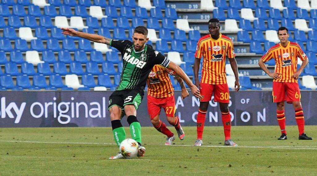 Sassuolo-Lecce 4-2