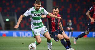 Il tabellino di Bologna-Sassuolo 1-2