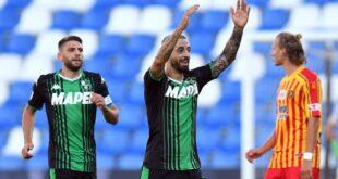 Il tabellino di Sassuolo-Lecce 4-2