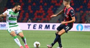 I numeri di Bologna-Sassuolo 1-2: il miglior attacco oltre la zona Champions