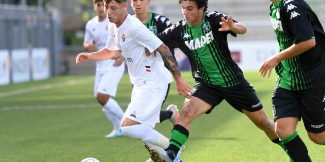 Davide Manarelli, Martino Ripamonti e Christian Aucelli, Fiorentina-Sassuolo 1-3 Under 18