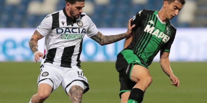 diretta Sassuolo-Udinese