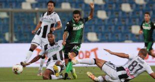 I numeri di Sassuolo-Udinese 0-1: le statistiche migliori non bastano a vincere