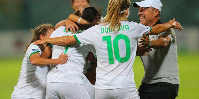 Sassuolo Femminile: rinviata per COVID la partita di Coppa con il Pontedera