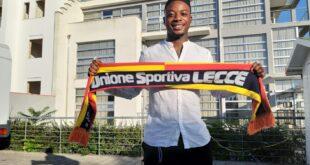 Vicino il trasferimento di Adjapong al Lecce, calciatore in città per sostenere le visite mediche