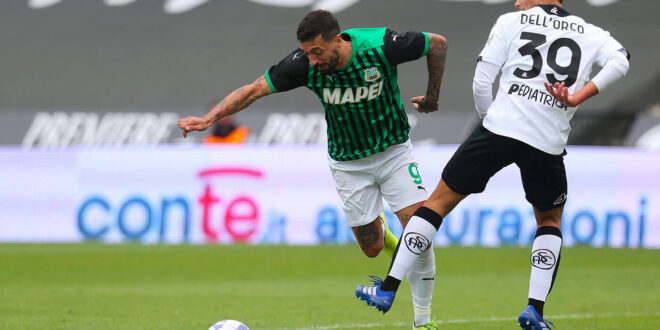 highlights spezia-sassuolo 1-4