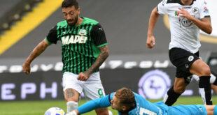 """Caputo dopo Spezia-Sassuolo 1-4: """"Oggi è stato assurdo, tre gol annullati e uno buono"""""""