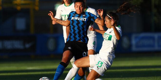 Femminile: l'amichevole Inter-Sassuolo finisce a reti bianche
